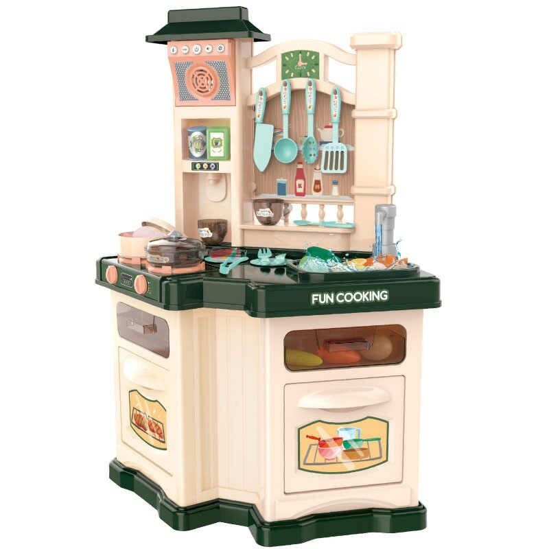 848A Детская игровая кухня с водой и холодным паром 77 см.