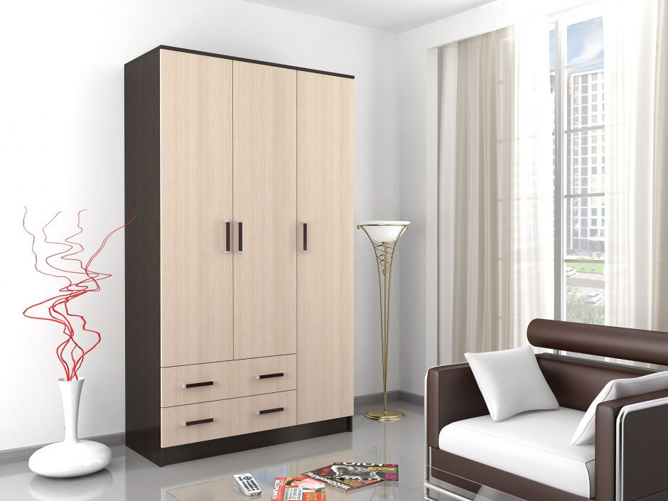 Шкаф комбинированный Лагуна