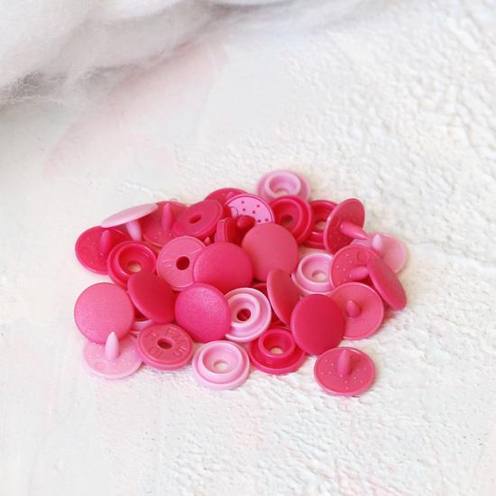 Кнопки Prym Love для кукольной одежды Розовые 9мм