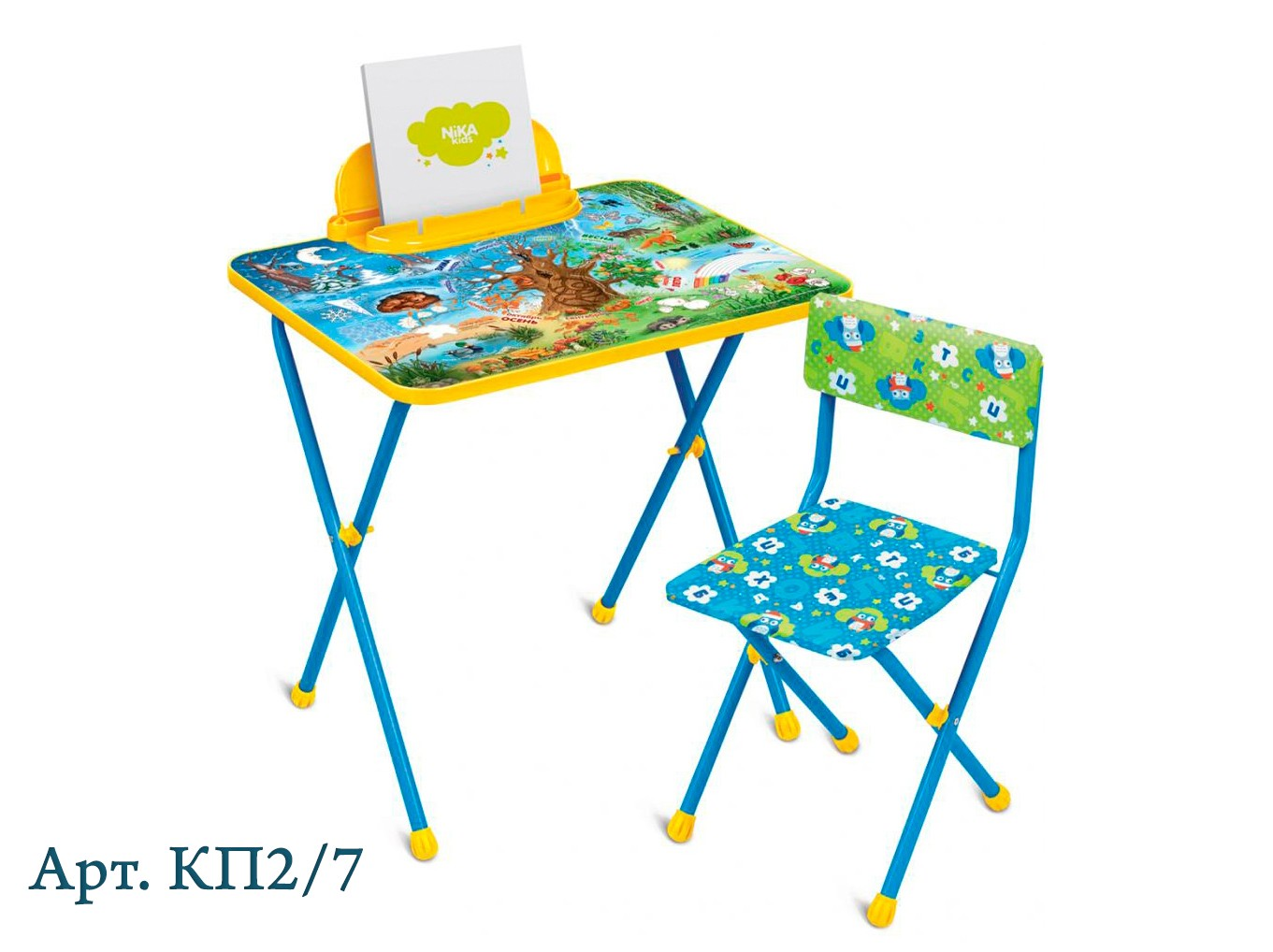 Комплект Никки стол+стул мягкие Ника КП2/7