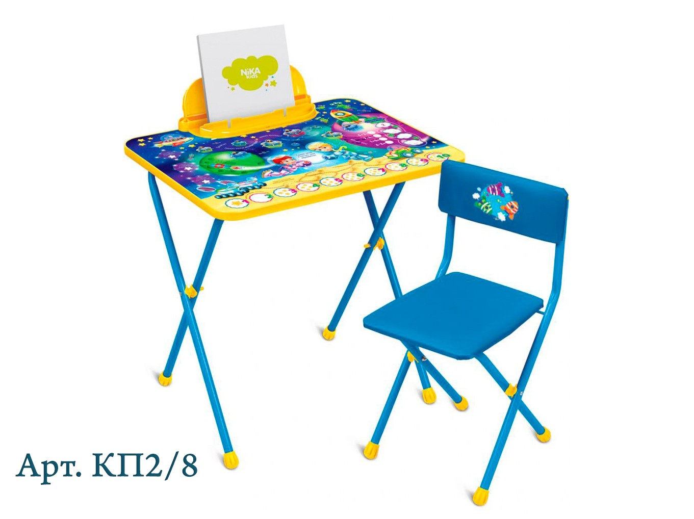 Комплект Никки стол+стул мягкие Ника КП2/8