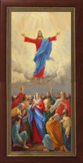 Мерная икона Вознесение Господне (25x50см)