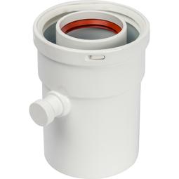 Элемент дымохода конденсатосборник вертик. DN60/100, п/м уплотнения в компл. Артикул:  SCA-6010-000101 STOUT