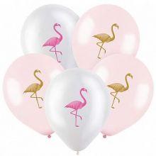 """Фламинго, Ассорти Пастель-Кристалл, 2 ст., 12"""", 100 шт"""