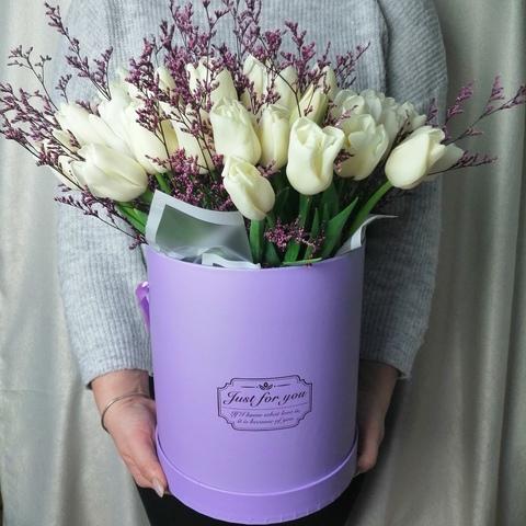 Микс букет из тюльпанов
