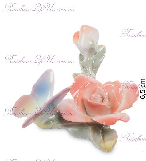 "Фигурка Бабочка на розе CMS-35/10 ""Pavone"""