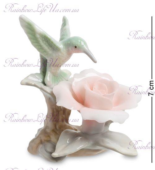 "Фигурка Колибри на розе CMS-35/ 7 ""Pavone"""