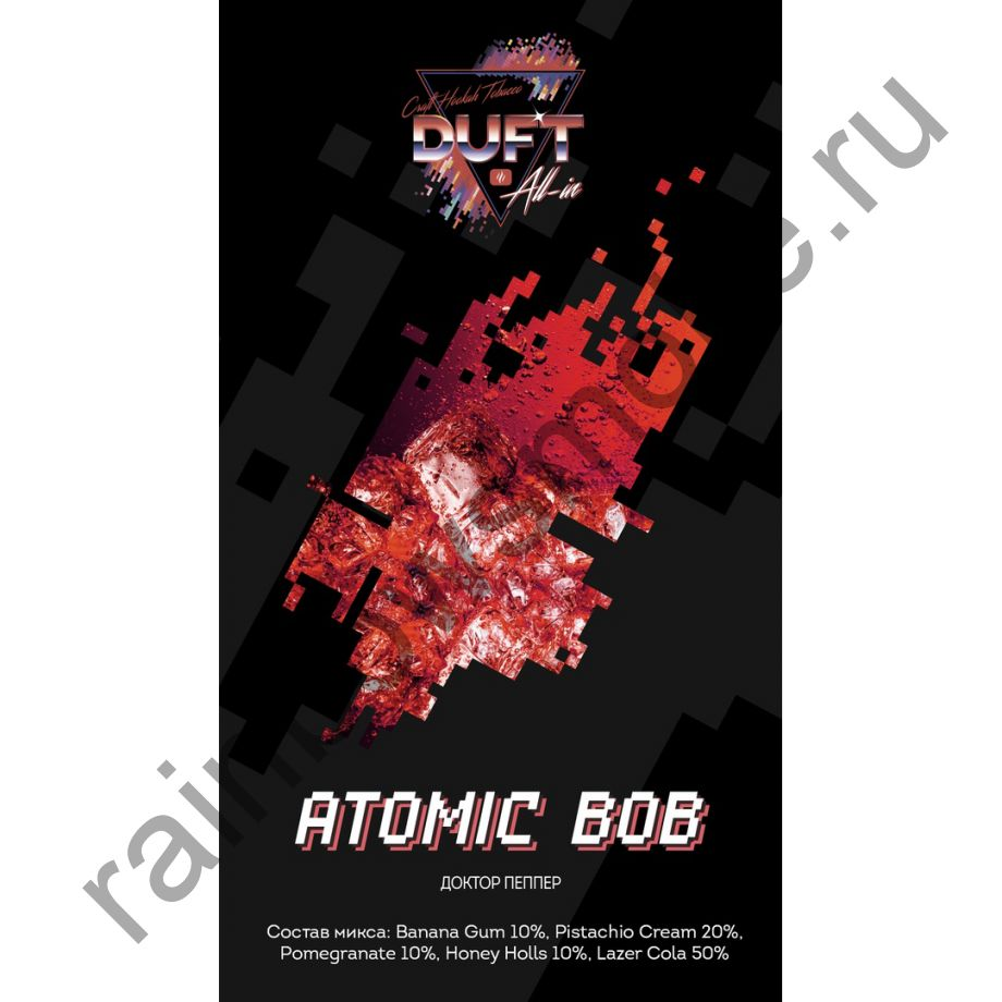 Duft All-in 25 гр - ATOMIC BOB (Атомный Боб)