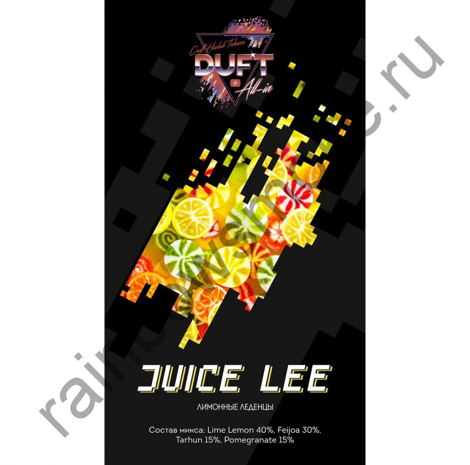 Duft All-in 25 гр - JUICE LEE (Сок Ли)