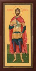 Мерная икона Александр Невский князь (25x50см)