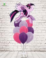 Фонтан с шаром пони