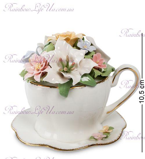 "Композиция муз. Чашка с цветами CMS-33/11 ""Pavone"""