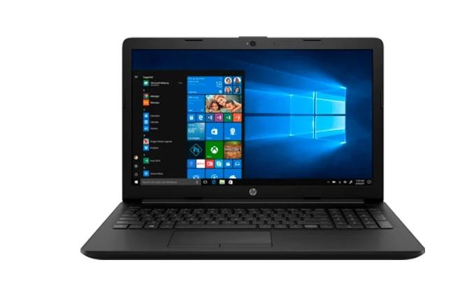 """Ноутбук HP 15-db0553ur (153L2EA) Черный (15.6""""(1920x1080)SVA/ A9-9425(3.1ГГц)/ 4Гб/ 256Gb SSD/ Radeon R5 Graphics/ нет DVD/ Win10)"""