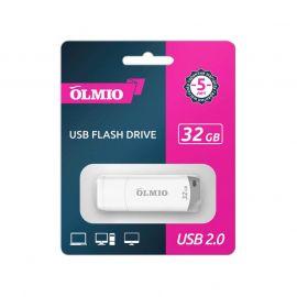 Флеш-накопитель OLMIO, объем памяти 32Gb, U-181, USB 2.0