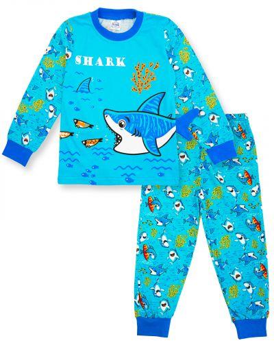 "Пижама для мальчика 3-7 лет Bonito Animals ""Shark"""