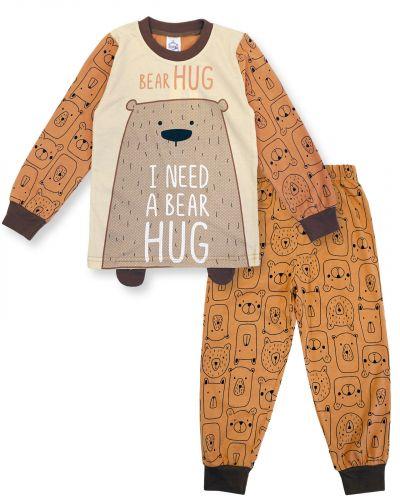 "Пижама для мальчика 3-7 лет Bonito Animals ""Bear"""