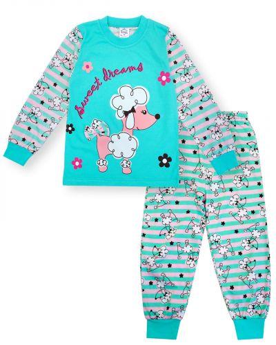"""Пижама для девочки 3-7 лет Bonito Animals """"Poodle"""""""