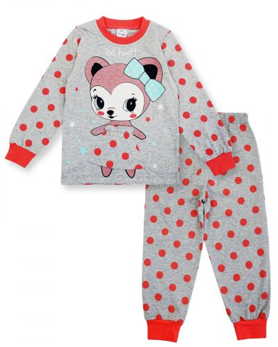 """Пижама для девочки 3-7 лет Bonito Animals """"Мышонок"""""""