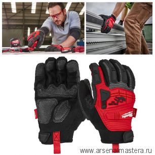 Перчатки с защитой от удара Impact Demolition Gloves 10 / XL MILWAUKEE 4932471910