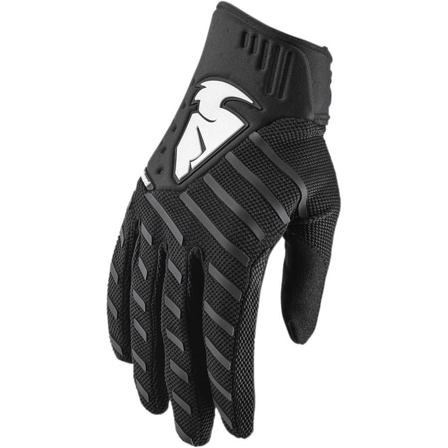 Thor - Rebound Black перчатки, черные