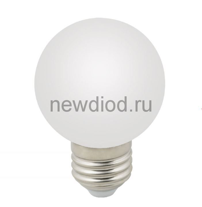 "Лампа декоративная светодиодная LED-G60-3W/3000K/E27/FR/С Ф""шар"", матовая 3000K ТМ Volpe"