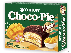 Печенье Чокопай Манго 180г (12шт)