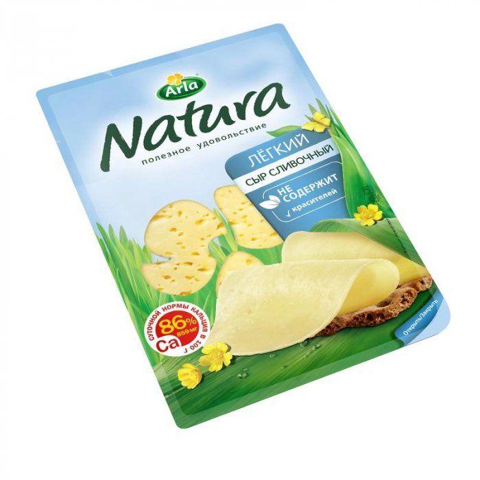 Сыр Арла Натура сливочный легкий нар 30% 150г Россия