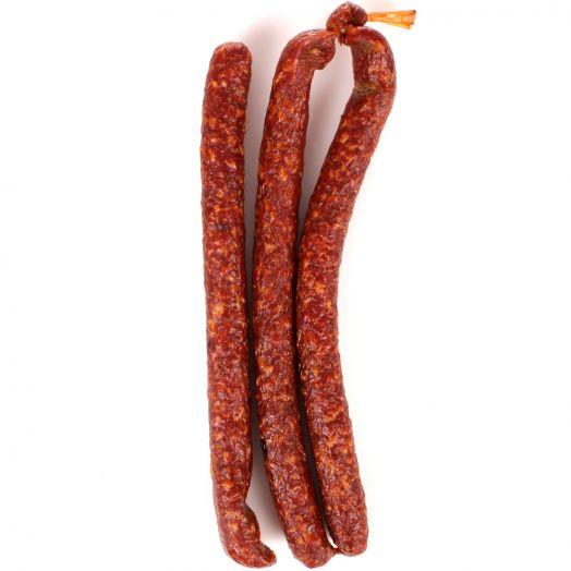 Колбаски Кнуты с/к 80г защ среда Мясопотам