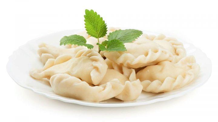 *Вареники с картофелем и грибами пакет 400г Настоящая еда