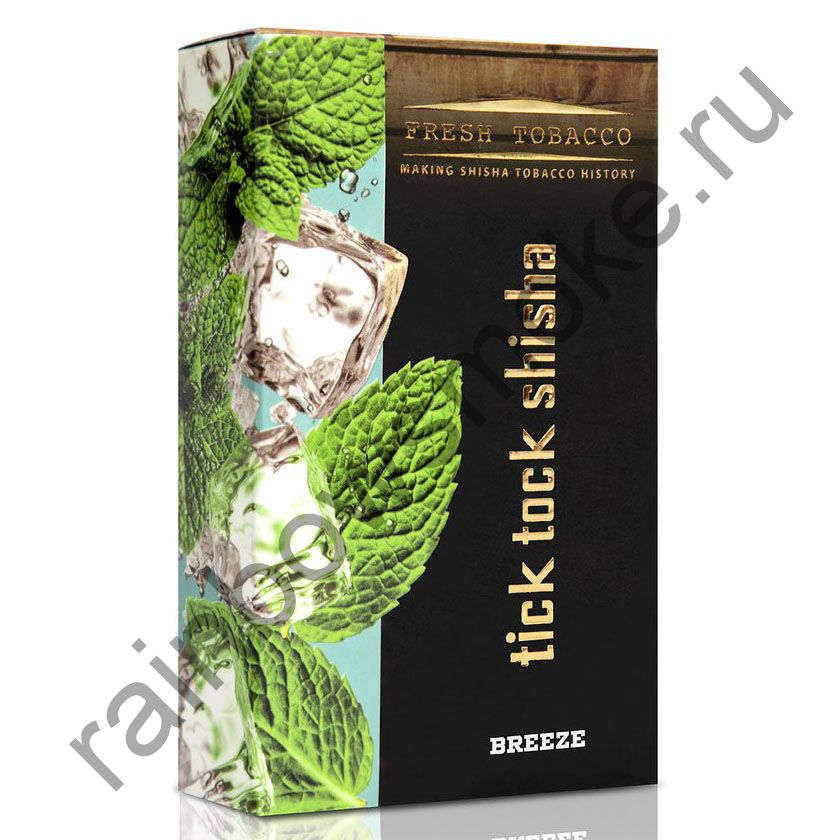 Tick Tock Hookah 100 гр - Breeze (Ice Mint) (Ледяная Мята)