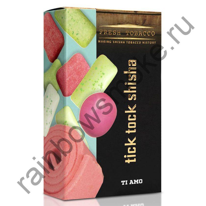 Tick Tock Hookah 100 гр - Ti Amo (Bubblegum & Mint) (Фруктовая Жвачка и Мята)