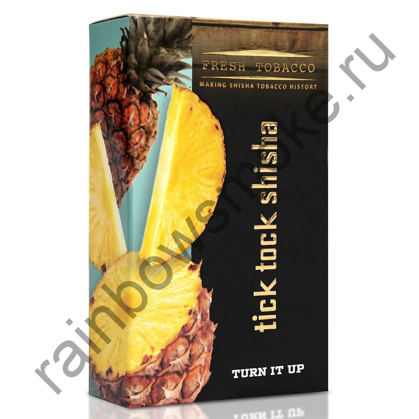 Tick Tock Hookah 100 гр - Turn it Up (Pineapple) (Ананас)
