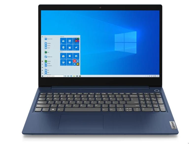 "Ноутбук LENOVO IdeaPad 3 (81WE00KDRK) abyss blue (15.6"" FHD/Core i3 1005G1/8Gb/256Gb SSD/noDVD/VGA int/DOS)"