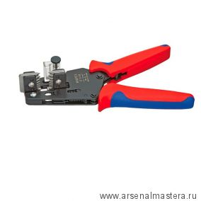 Прецизионные клещи для удаления изоляции с фасонными ножами KNIPEX 12 12 06