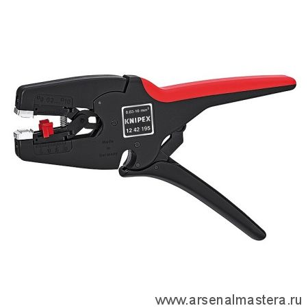 Инструмент для удаления изоляции MultiStrip 10 (автоматический стрипер) KNIPEX 12 42 195