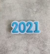 "Пластиковая форма ""2021"""