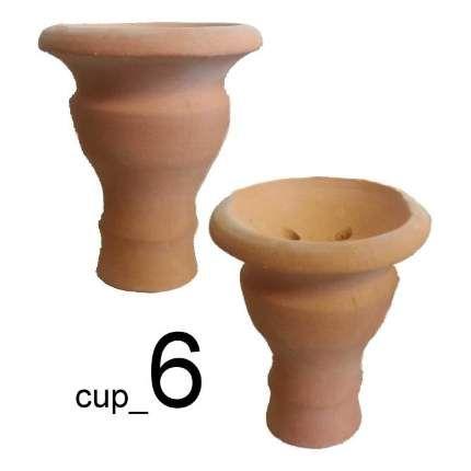 Чаша для кальяна - Глиняная №6 (Глина)