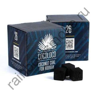 Уголь кокосовый для кальяна Cocoloco 26мм (1кг)