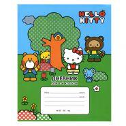 Дневник для младших классов Action! Hello Kitty линейка