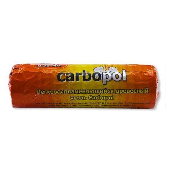 Уголь Carbopol (35 мм, 10 таблеток)