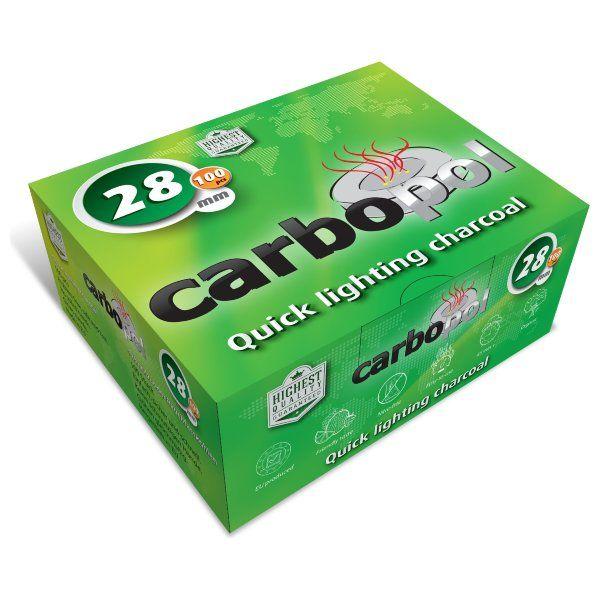 Уголь Carbopol (28 мм, коробка 100 шт)