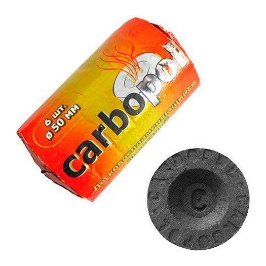 Уголь Carbopol (50 мм, 6 таблеток)