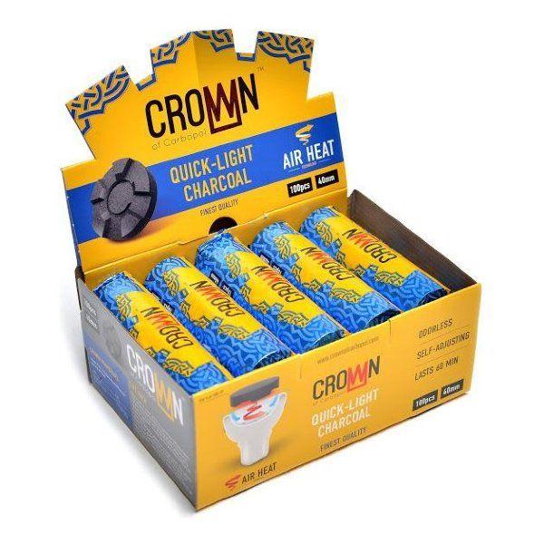 Уголь Carbopol Crown (40 мм, коробка 100 шт)