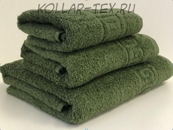Комплект махровых полотенец олива, Туркменистан