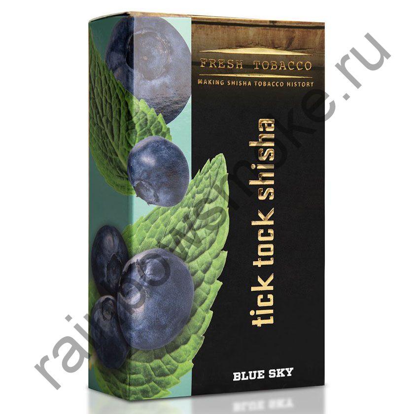 Tick Tock Hookah 100 гр - Blue Sky (Blueberry & Mint) (Черника и Мята)