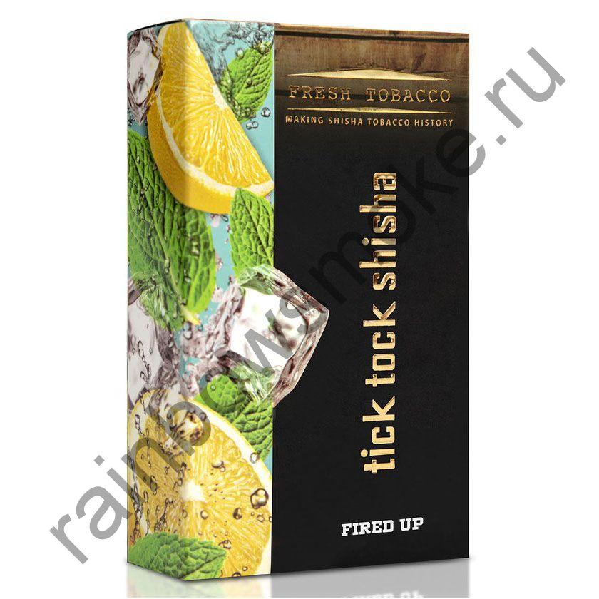 Tick Tock Hookah 100 гр - Fired Up (Ice Lemon Mint) (Ледяной Лимон и Мята)