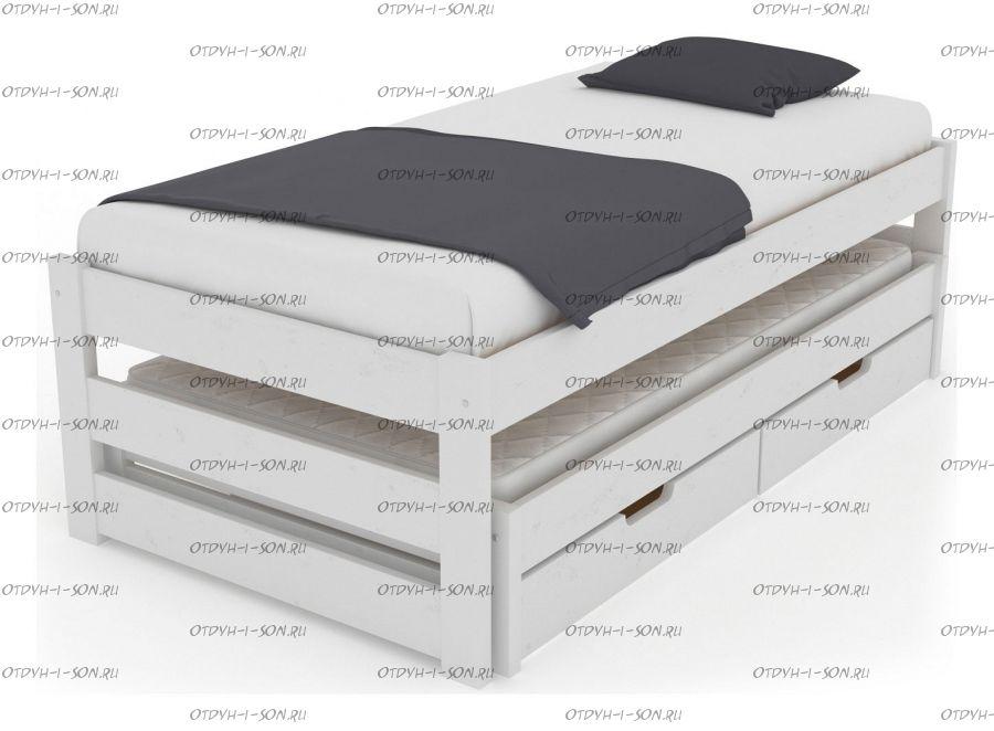 Кровать Меган №9 Массив, любые размеры