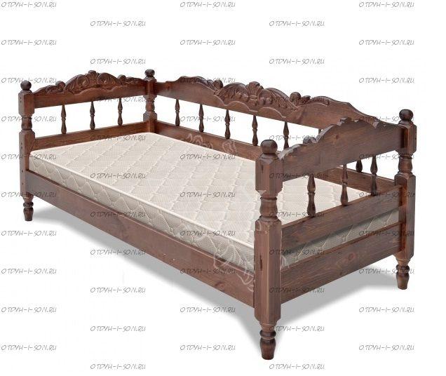 Кровать Дайсу №1, любые размеры