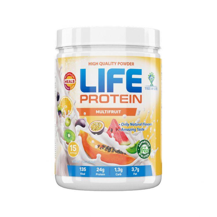 Life Protein Banana Milkshake 1lb 454 гр 15 порций