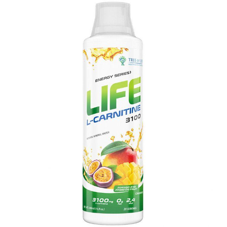 Life L-Carnitine 3100 от Tree of Life 500ml 20 порций